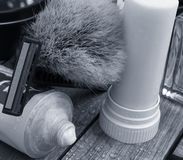 El afeitar clásico Fotografía de archivo