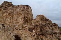 El afloramiento rocoso Foto de archivo libre de regalías