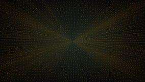 El agitar al azar de la superficie geométrica poligonal del extracto almacen de video