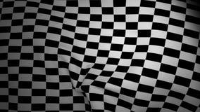 El agitar Checkered del indicador stock de ilustración