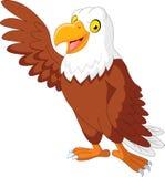 El agitar de la historieta de Eagle Fotos de archivo libres de regalías