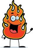 El agitar de la llama libre illustration