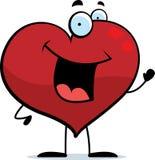 El agitar del corazón Foto de archivo libre de regalías