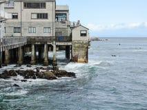 El agitar del océano Foto de archivo libre de regalías