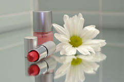 El agrupar cosmético Imagen de archivo libre de regalías