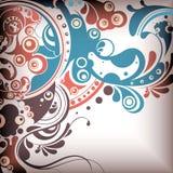 El agua abstracta burbujea el fondo 1 ilustración del vector