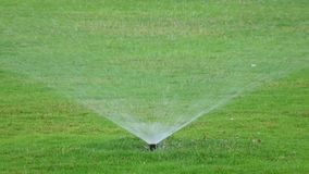 El agua asperja metrajes