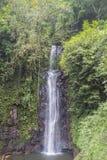 El agua cae en Sao Tome imagen de archivo libre de regalías
