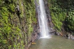 El agua cae en Sao Tome foto de archivo libre de regalías