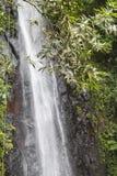El agua cae en Sao Tome fotografía de archivo