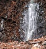 El agua cae en Sao Tome fotos de archivo libres de regalías