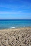 El agua cristalina de Sicilia Fotografía de archivo libre de regalías