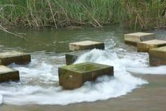 El agua de la junta f Los Foto de archivo