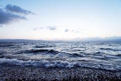 El agua oscura Imagenes de archivo