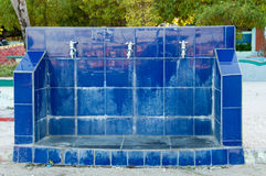 El agua potable pública golpea ligeramente Maldivas Imagen de archivo libre de regalías