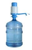 El agua puede con el recorte de la bomba Foto de archivo