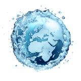 El agua recicla en el mundo - Europa fotos de archivo