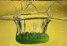 El agua salpica foto de archivo libre de regalías