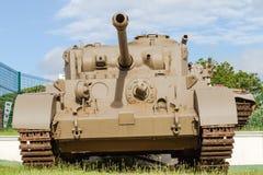 El aherrumbrar de la Segunda Guerra Mundial de los tanques Foto de archivo
