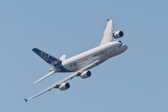 El Airbus A380 Imagen de archivo libre de regalías