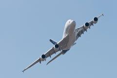 El Airbus A380 Fotografía de archivo libre de regalías