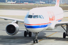 Airbus A320 Fotografía de archivo libre de regalías