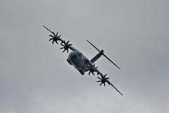 El Airbus A400M en el airshow Fotografía de archivo