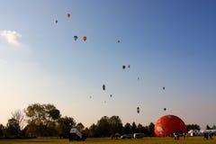El aire caliente de Ferrara hincha el festival 2008 Fotos de archivo
