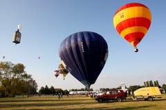 El aire caliente de Ferrara hincha el festival 2008 foto de archivo
