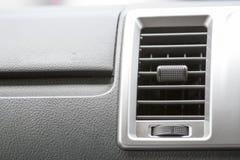 El aire en el color del negro del coche Fotografía de archivo libre de regalías