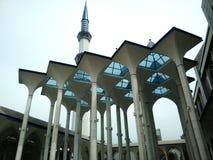 El aire libre de una mezquita Fotografía de archivo libre de regalías