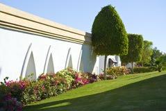 El ajardinar del hotel de centro turístico Fotografía de archivo