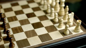 El ajedrez vino cerca para arriba metrajes