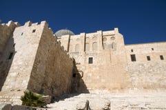 El-Aksah mosque and western wall Stock Photos