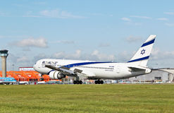 EL AL Boeing 767 Royalty Free Stock Photo
