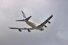 El Al Boeing 747 Stock Photo
