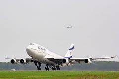 El Al Boeing 747 Royalty Free Stock Photos