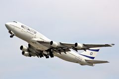 El Al Boeing 747 Stock Photos