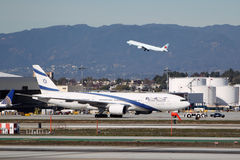 El Al Israel Airlines Boeing 777-258(ER) Royalty Free Stock Image