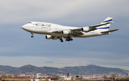EL AL Israel Airlines Boeing 747 Stock Photos