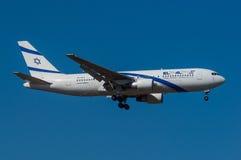 El Al Israel Airlines Boeing 767-27EER Royalty Free Stock Photo