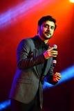 El al-Mohandis del Majid del cantante se realiza en etapa durante el concierto grande de los premios 2016 de la música de Appl Fotos de archivo libres de regalías