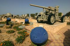 Kriga museet el Alamein Arkivbilder