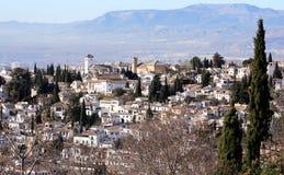 El Albaycin Royalty Free Stock Photo