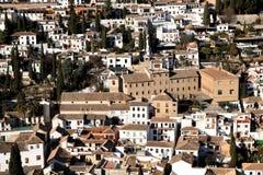 EL Albaycin Foto de Stock Royalty Free