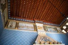 El ` Albertis de Castello d es una residencia histórica en Genoa Italy Contiene actualmente el museo de las culturas del mundo, Fotografía de archivo