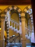 El ` Albertis de Castello d es una residencia histórica en Genoa Italy Contiene actualmente el museo de las culturas del mundo, Fotos de archivo