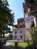 El ` Albertis de Castello d es una residencia histórica en Genoa Italy Contiene actualmente el museo de las culturas del mundo, Imagen de archivo