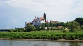 El Albrechtsburg en Sajonia, Alemania Foto de archivo libre de regalías