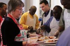 El alcalde de Annapolis que honra a los jubilados de Annapolis Imagen de archivo libre de regalías